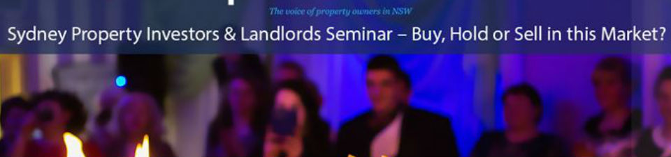 The Property Owners Association of NSW Presents . .